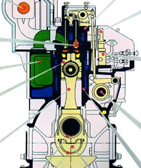 dk系列柴油机结构图